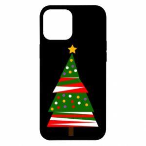 Etui na iPhone 12 Pro Max Drzewo noworoczne ozdobione