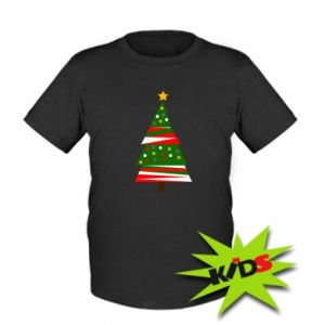 Kids T-shirt New Year tree decorated