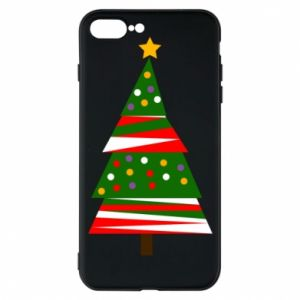 iPhone 7 Plus case New Year tree decorated