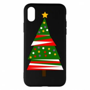 iPhone X/Xs Case New Year tree decorated