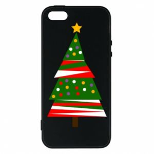 iPhone 5/5S/SE Case New Year tree decorated