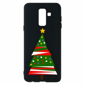 Samsung A6+ 2018 Case New Year tree decorated