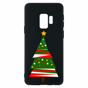 Samsung S9 Case New Year tree decorated