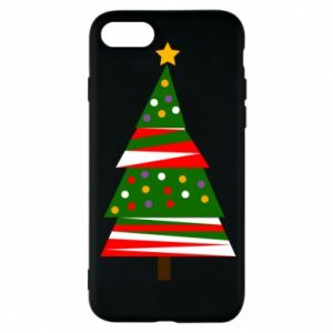 iPhone 8 Case New Year tree decorated