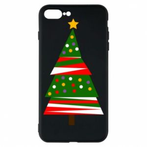 iPhone 8 Plus Case New Year tree decorated