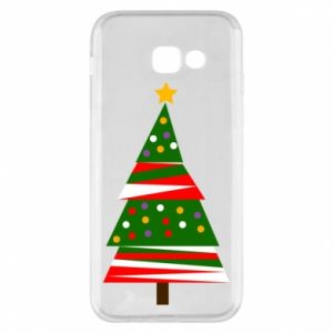 Samsung A5 2017 Case New Year tree decorated