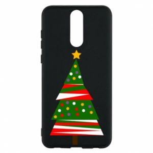 Huawei Mate 10 Lite Case New Year tree decorated