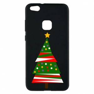Huawei P10 Lite Case New Year tree decorated