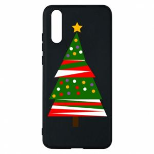 Huawei P20 Case New Year tree decorated