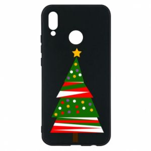 Huawei P20 Lite Case New Year tree decorated