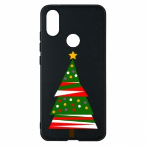 Xiaomi Mi A2 Case New Year tree decorated
