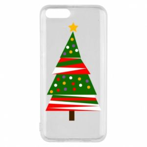 Xiaomi Mi6 Case New Year tree decorated