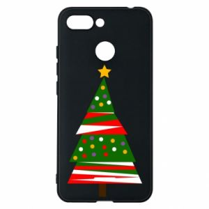 Xiaomi Redmi 6 Case New Year tree decorated