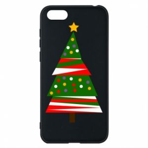 Huawei Y5 2018 Case New Year tree decorated