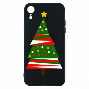 iPhone XR Case New Year tree decorated