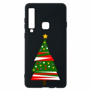Samsung A9 2018 Case New Year tree decorated