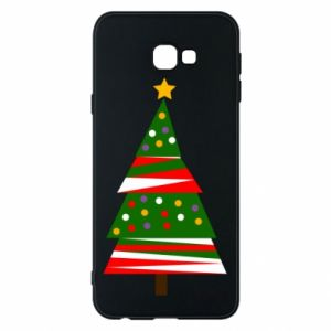 Samsung J4 Plus 2018 Case New Year tree decorated