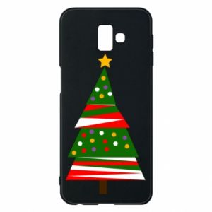 Samsung J6 Plus 2018 Case New Year tree decorated