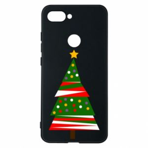 Phone case for Xiaomi Mi8 Lite New Year tree decorated