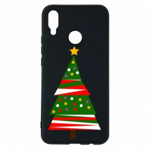 Huawei P Smart Plus Case New Year tree decorated