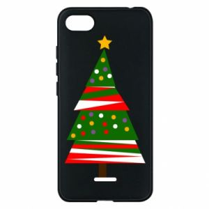 Xiaomi Redmi 6A Case New Year tree decorated