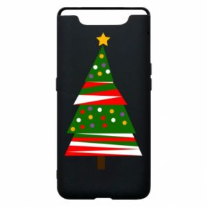 Samsung A80 Case New Year tree decorated