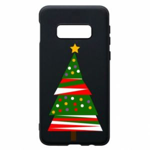 Samsung S10e Case New Year tree decorated