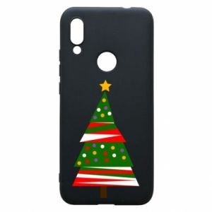Xiaomi Redmi 7 Case New Year tree decorated