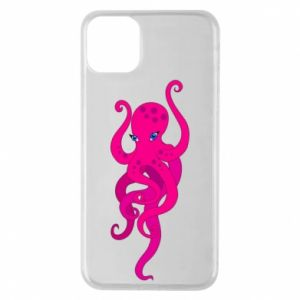 Phone case for iPhone 11 Pro Max Big pink octopus