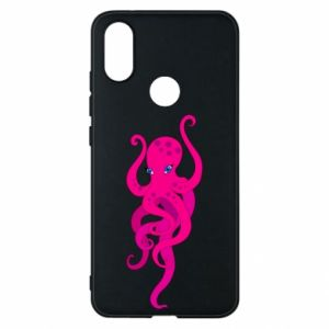 Phone case for Xiaomi Mi A2 Big pink octopus