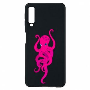 Phone case for Samsung A7 2018 Big pink octopus