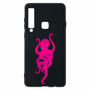 Phone case for Samsung A9 2018 Big pink octopus