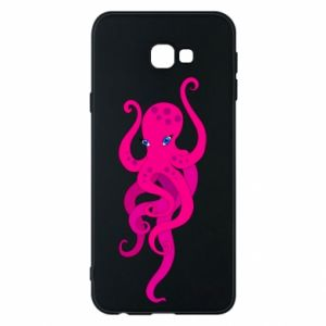 Phone case for Samsung J4 Plus 2018 Big pink octopus
