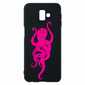 Phone case for Samsung J6 Plus 2018 Big pink octopus