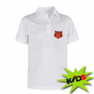 Children's Polo shirts Big tiger face