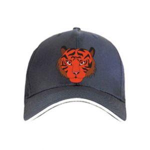 Cap Big tiger face