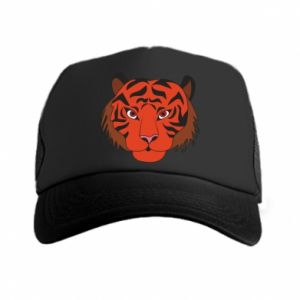 Trucker hat Big tiger face