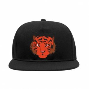 SnapBack Big tiger face