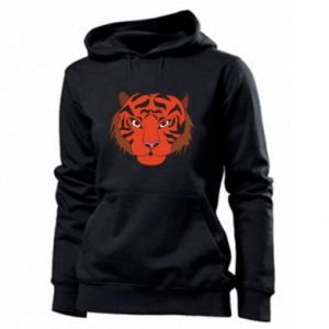 Women's hoodies Big tiger face