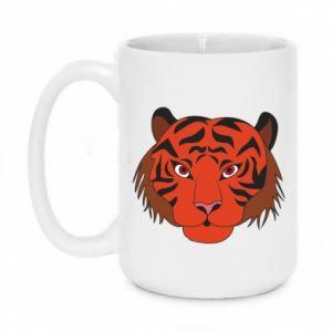 Mug 450ml Big tiger face