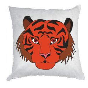 Pillow Big tiger face