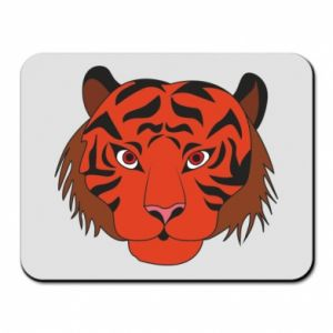 Mouse pad Big tiger face
