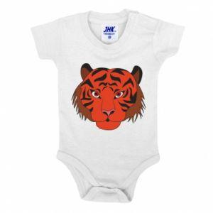 Baby bodysuit Big tiger face