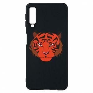 Samsung A7 2018 Case Big tiger face
