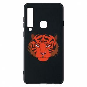 Etui na Samsung A9 2018 Duża twarz tygrysa