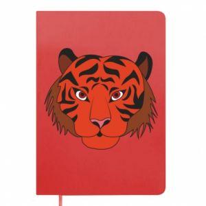Notes Duża twarz tygrysa