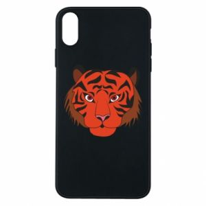 iPhone Xs Max Case Big tiger face