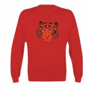 Kid's sweatshirt Big tiger face