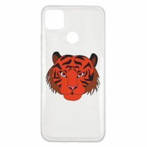 Xiaomi Redmi 9c Case Big tiger face