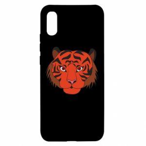 Xiaomi Redmi 9a Case Big tiger face